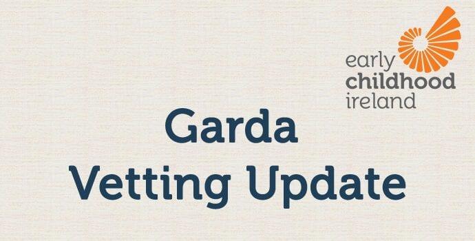 Garda vetting update 2 June 21
