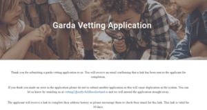 garda vetting update 13 september 2021